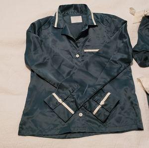 A&F Satin Pajama Set